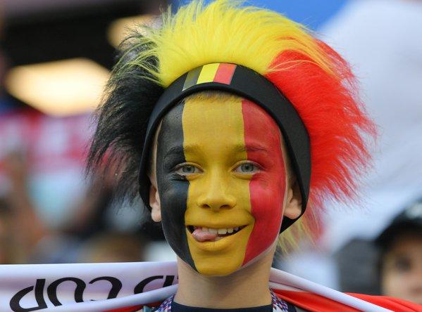 suporter belgia