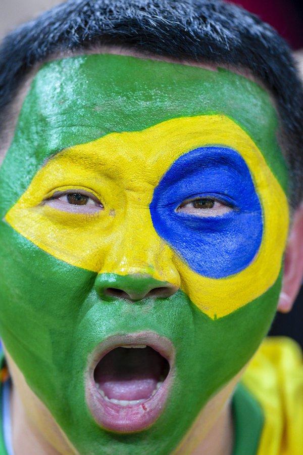 suporter brazilia