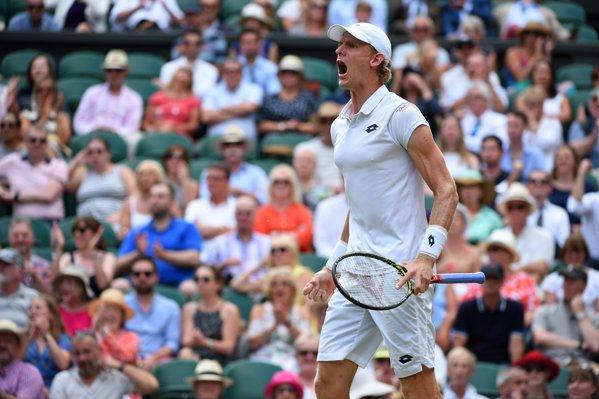 Kevin Anderson la Wimbledon