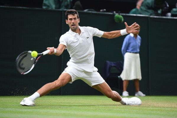 Novak Djokovic la Wimbledon