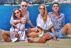 De la răcoarea gratiilor, în soarele din Capri: Cristi Borcea, cu Valentina în INSULA IUBIRII