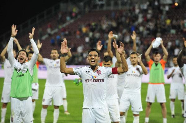 Un meci de 4 MILIOANE DE EURO. CFR Cluj trebuie să învingă la 3 GOLURI o echipă din...