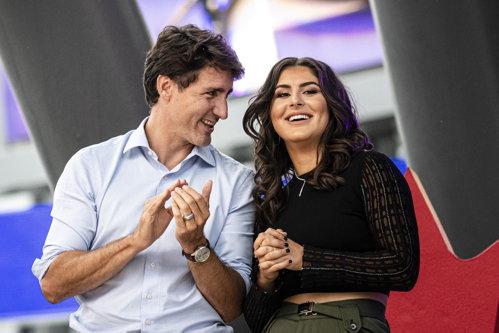 Justin Trudeau le-a mulţumit părinţilor Biancăi Andreescu că au imigrat în Canada