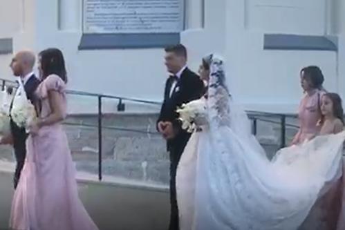 Gigi Becali, socru mic. Cum a arătat Teodora, fiica patronului FCSB, în ziua nunţii