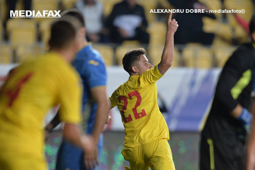 România U21 - Irlanda de Nord U21, scor 3-0, în preliminariile EURO 2021. Tricolorii se află pe locul trei în grupă