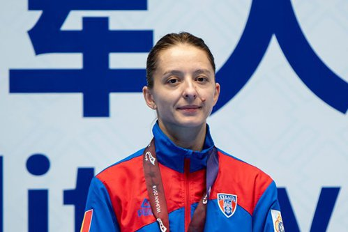 Ana Maria Popescu a câştigat medalia de aur la scrimă la Grand Prix-ul din Qatar