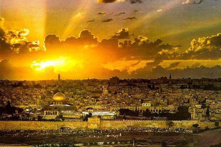 Aurul însângerat al Ierusalimului