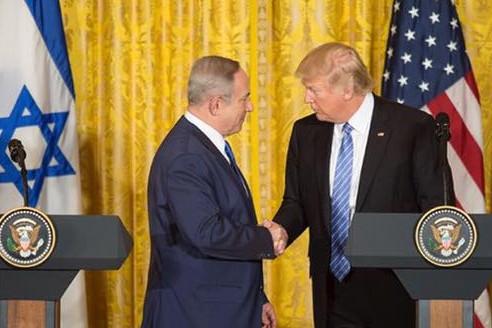 Netanyahu a îngropat la Washington soluţia a două state, Israel şi Palestina, iar Trump a înecat presa într-un şuvoi de superlative