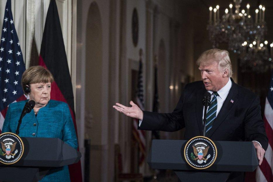 Trump e de pe Marte, Merkel de pe Venus