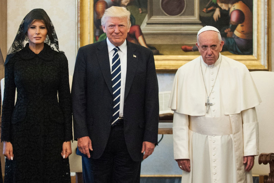 """Celălalt Trump către Papă: """"Nu voi uita ce mi-aţi spus"""""""