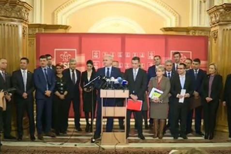 Guvernul Dragnea - Ordinul Bene Merenti pentru Salvarea României