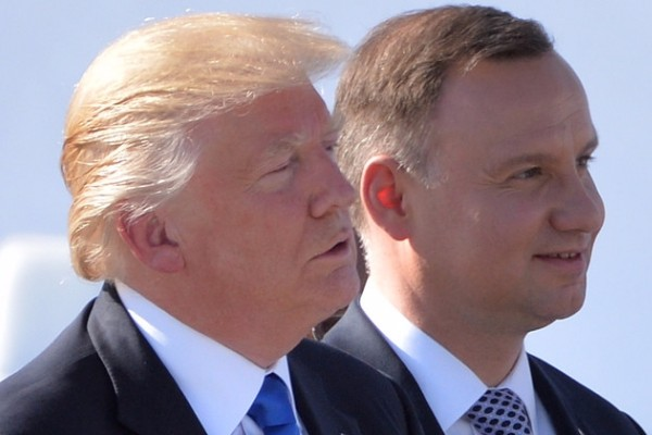 Trump în Polonia: europeni, să facem America măreaţă din nou!