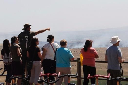Cum vor opri Trump şi Putin turismul macabru de pe Înălţimile Golan
