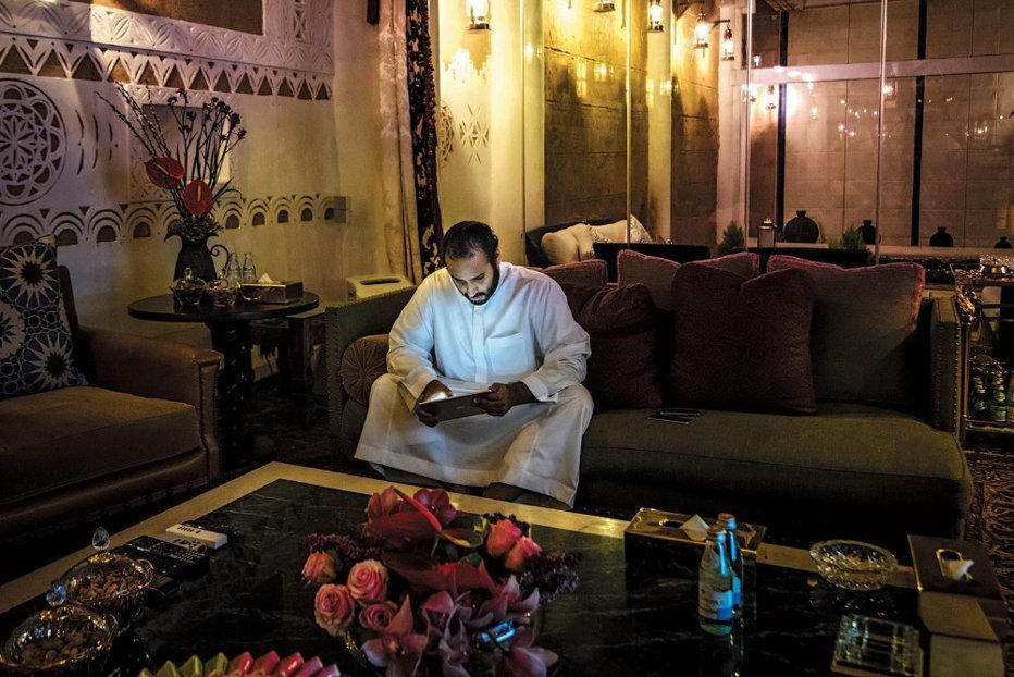 Bin Salman - singur acasă