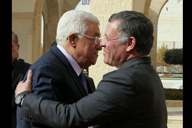 Regele Iordaniei, la Ramallah: pledoarie pentru inexistenta soluţie americană de pace