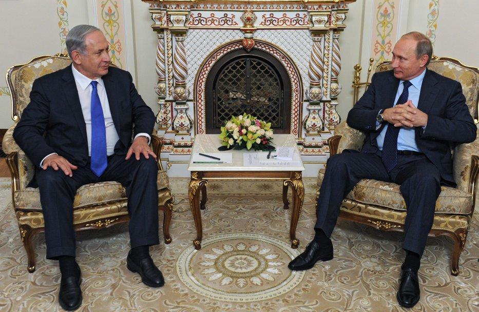 Netanyahu, din nou la mâna lui Putin