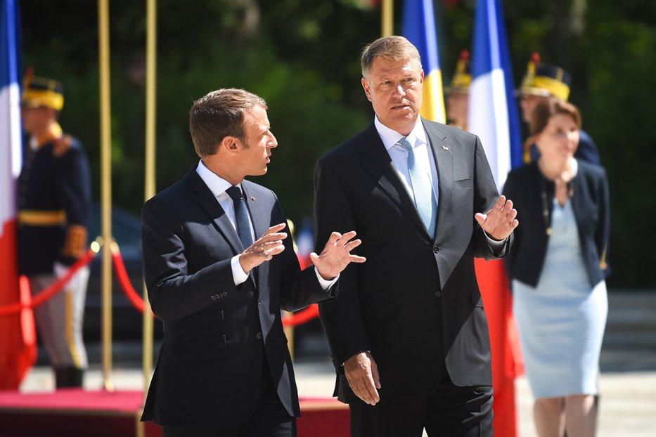 Preşedintele Iohannis a primit, într-o vizită expeditivă, Europa cu mai multe viteze