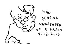 Pe asta o ştiţi? Menashe Mendelsohn citeşte un ziar arăbesc...
