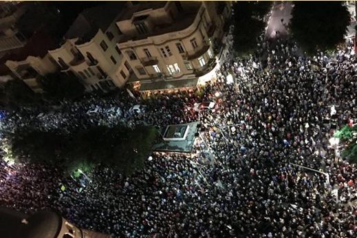 """""""Marşul Ruşinii"""", la Tel Aviv"""