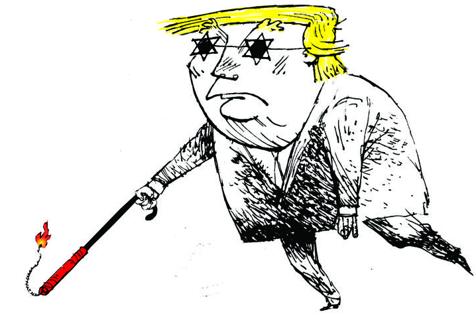 Ignorantul seren Donald J. Trump deschide porţile iadului