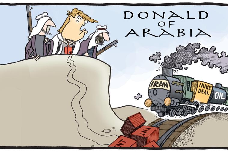"""Orientul Mijlociu, în Doctrina Trump. """"Israelul nu este cauza problemelor din regiune"""""""