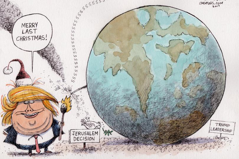 O palmă dată la ONU Americii lui Trump. România nu putea decât să se abţină