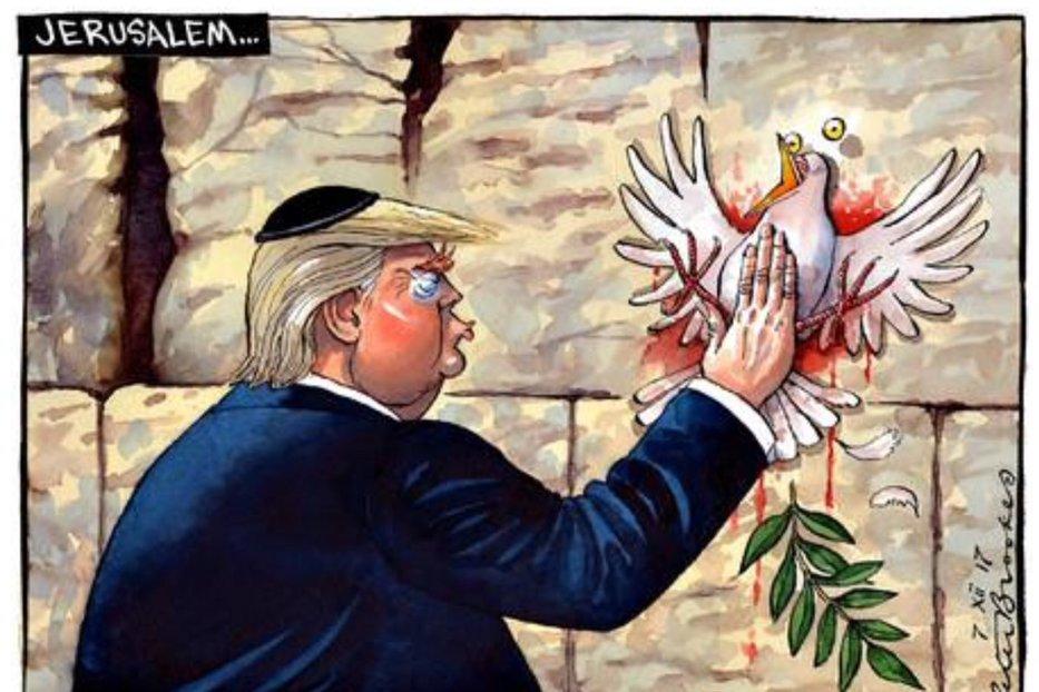 """Urmează staţia """"Donald John Trump""""... Pe când Premiul Nobel pentru Pace?"""