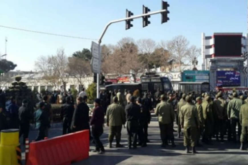 """Proteste în Iran: """"Lăsaţi Siria, gândiţi-vă la noi!"""""""
