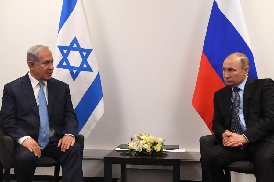 Ţinta: Liban. Întâlnire-fulger Netanyahu-Putin