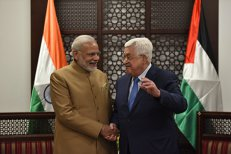 India – solidară cu cauza palestiniană