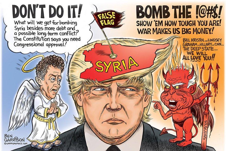 Ca să arate că nu e marioneta ruşilor, Trump - gata să arunce lumea în aer