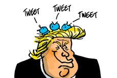 Zvârcolirile digitale ale preşedintelui Trump – izvor de inspiraţie pentru conspiraţionişti