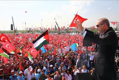 """Erdogan ştie ce spune, din proprie experienţă: """"Ce a făcut Israelul  e banditism, atrocitate, terorism de stat"""""""