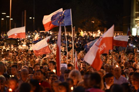 Axa mitingurilor guvernamentale Bucureşti – Budapesta – Varşovia