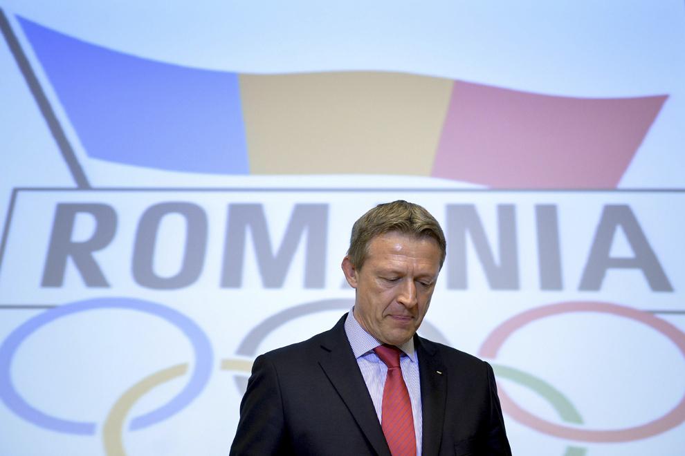 Octavian Morariu îşi anunţă demisia din funcţia de preşedinte al Comitetului Olimpic şi Sportiv Român (COSR), în cadrul Adunării Generale a forului, în Bucureşti, marţi, 15 aprilie 2014.