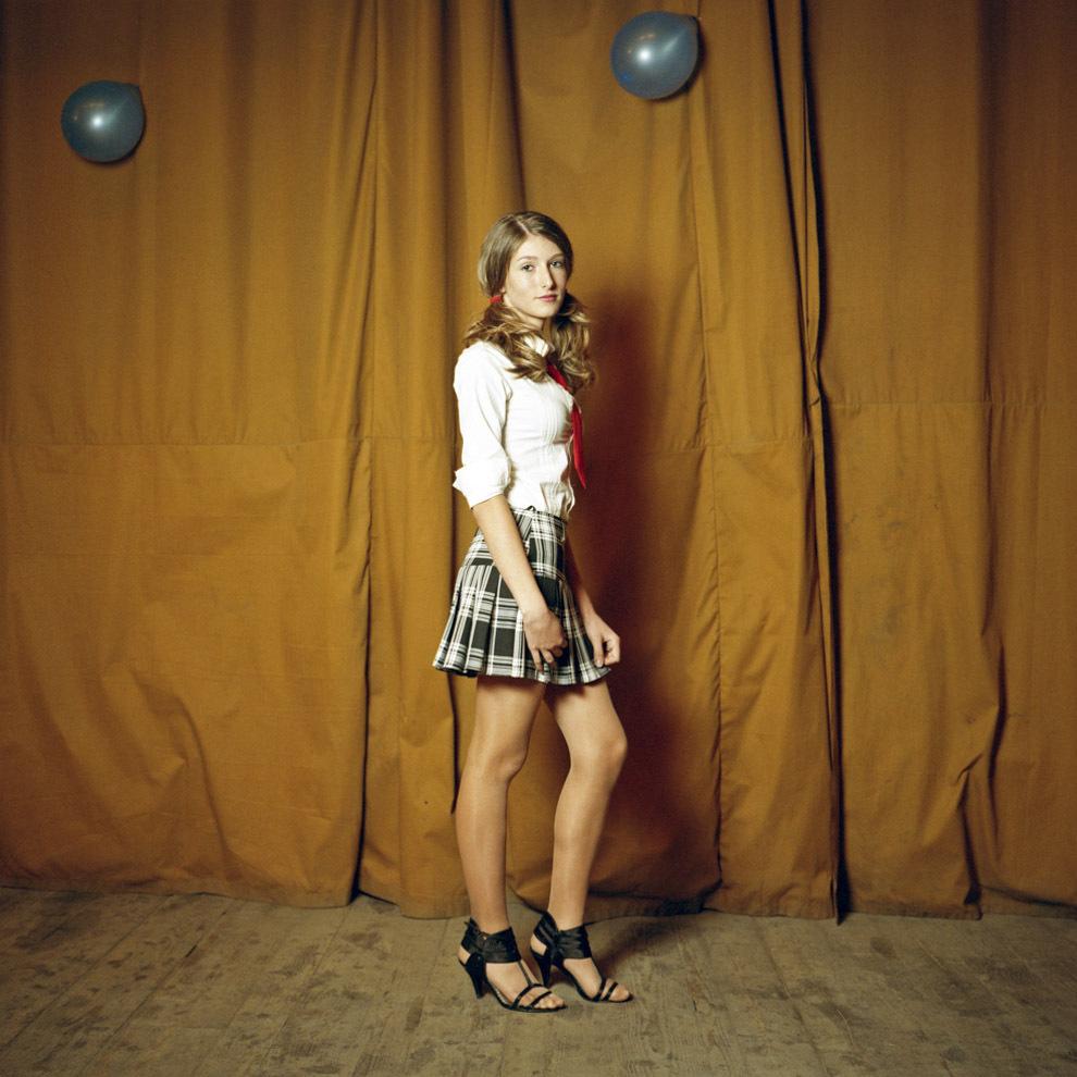 Corina Andreea, concurentă la Miss Boboc, Liceul Tehnologic Criscior, Hunedoara.