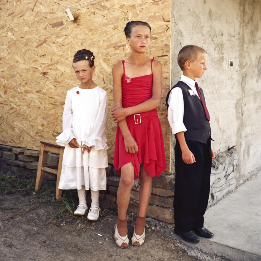 Copii la nuntă, Bistriţa.