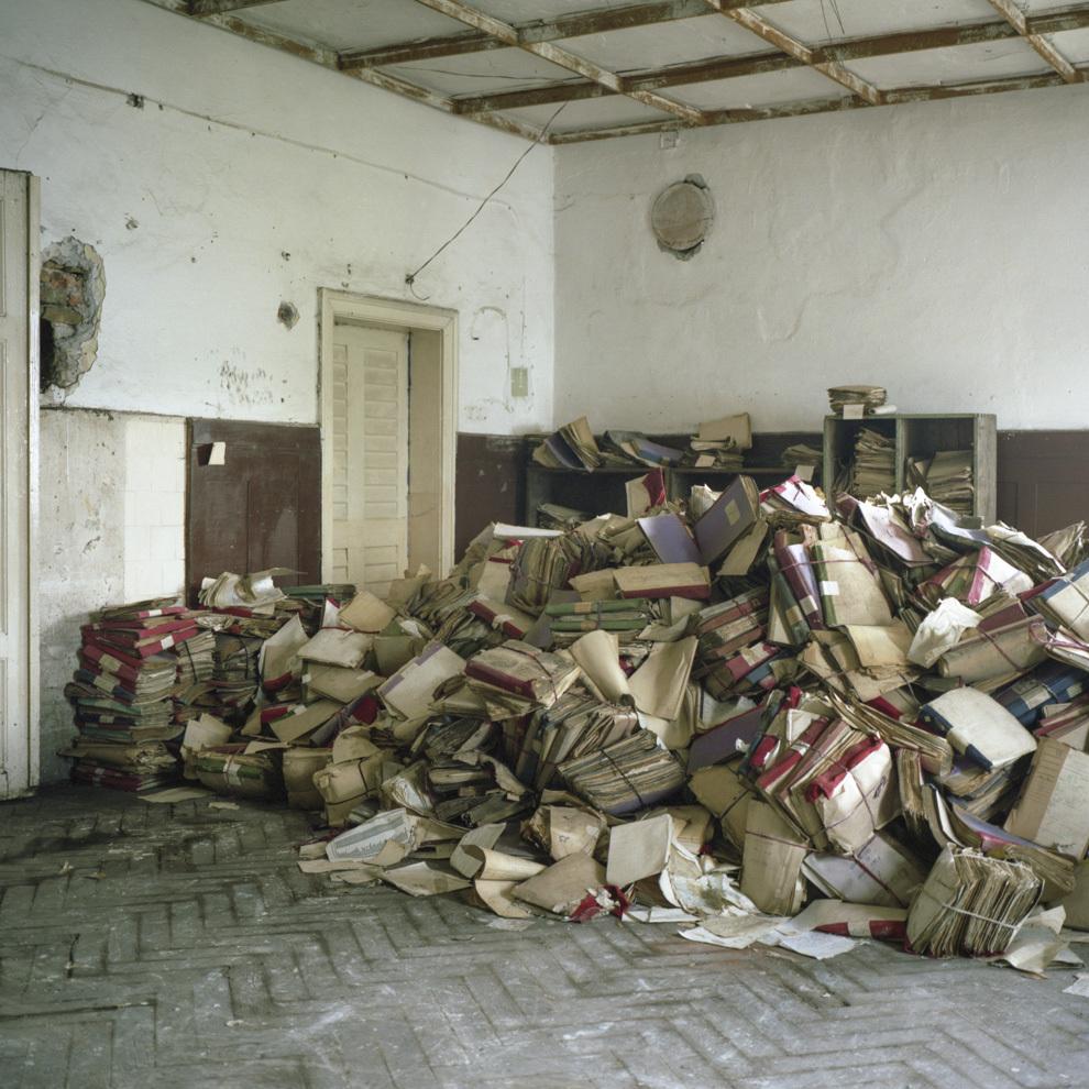 Fostă arhivă, Anina, Caraş-Severin.