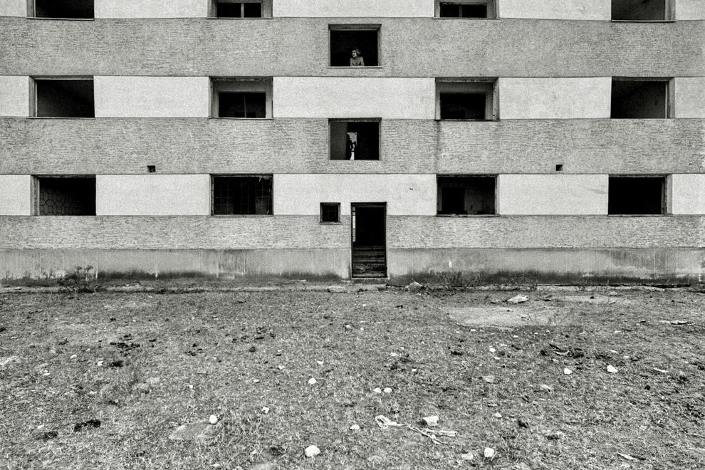 Caraorman, colonia abandonată.