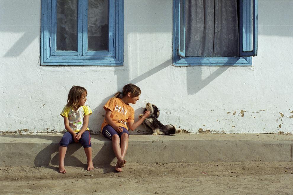 Letea, casă tradiţională, ultima de la marginea satului.