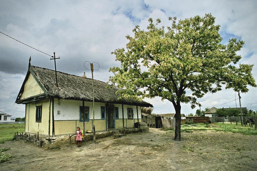 Letea, casă tradiţională.