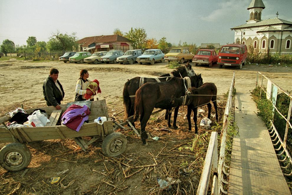 Tudor Vladimirescu, familie soseşte cu noul născut, în drum spre Ceatalchioi.
