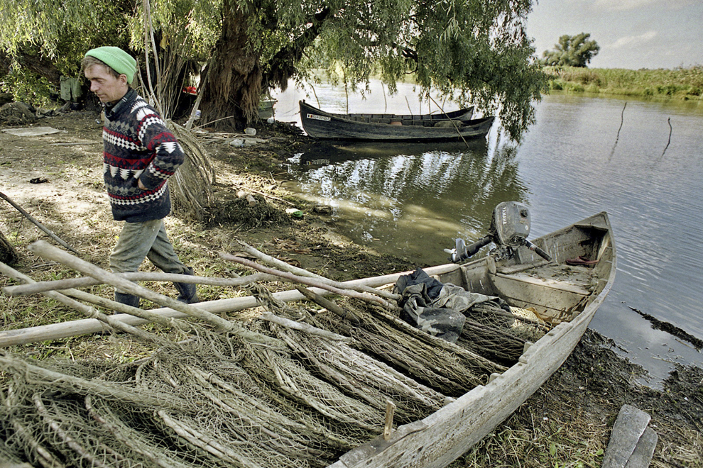 Pescar în inspecţie.