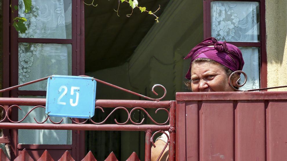 Priviri ferite, sat în Dobrogea.