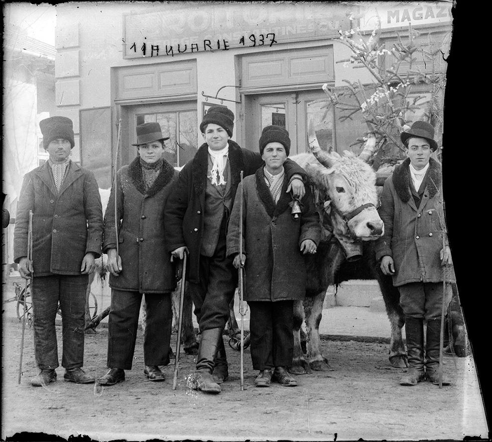 Colindători, 1 ianuarie 1937.
