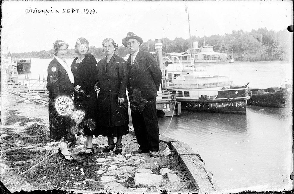 Portul Călăraşi, 8 septembrie 1933.
