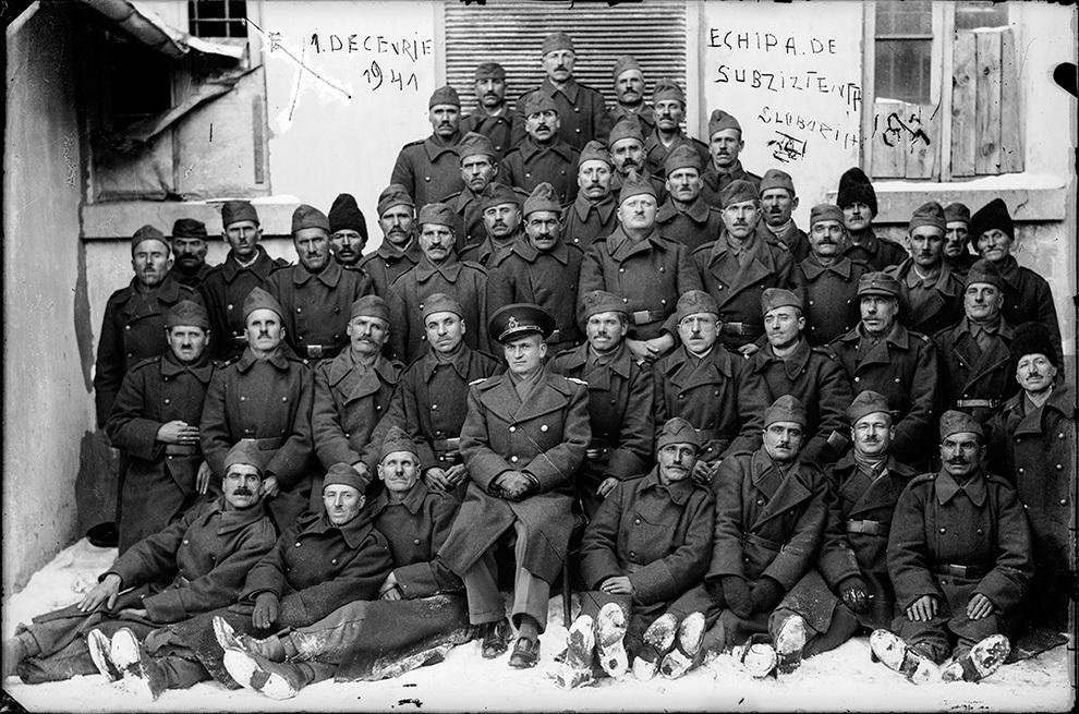 Echipa de subzistenţă Slobozia, 1 decembrie 1941.