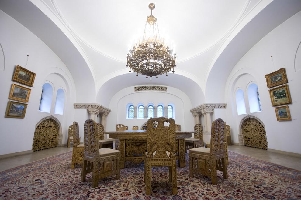 Sala Tezaur, Palatul Cotroceni, 2014.