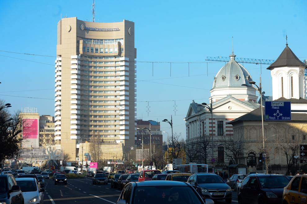 Hotel Intercontinental, Bucureşti, 2014.