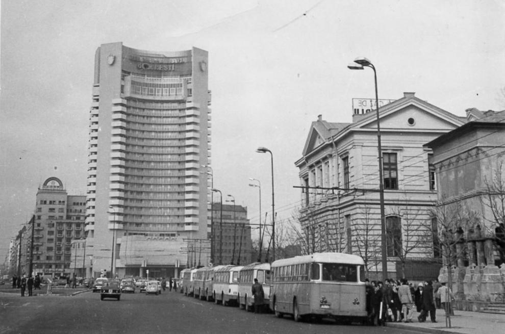 Hotel Intercontinental, Bucureşti, 1971,
